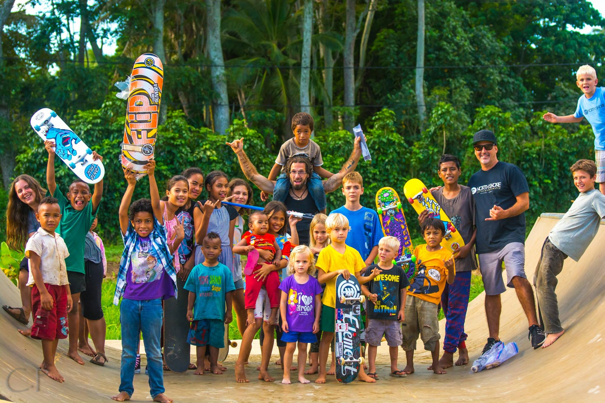 One Love Skate Park in Tonga